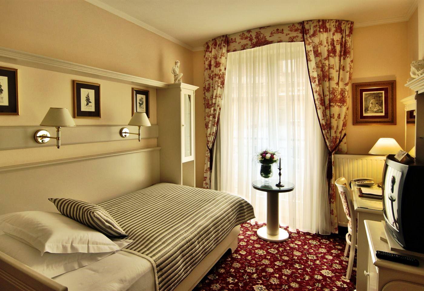 Lázeňský hotel Aura Palace – luxusní ubytování, jednolůžkový pokoj