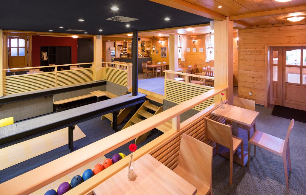 Penzion Bowling a restaurace Horní Malá Úpa - Bowling