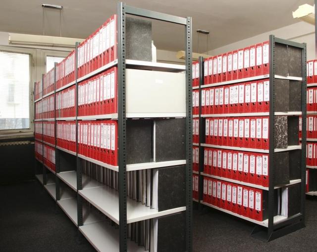 Profesionální regály a regálové systémy DIRP