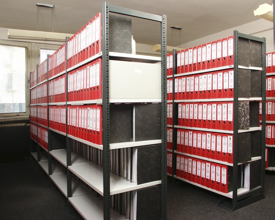 DIRP, s.r.o. - nabízíme profesionální regály a regálové systémy do archivů, knihoven, skladů, dílen, spisoven, kanceláří a obchodů, foto DIRP, s.r.o.