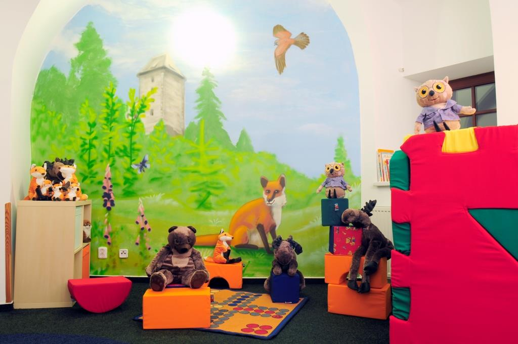 Dětská herna ve Family hotelu Rilancio, foto Family hotel Rilancio