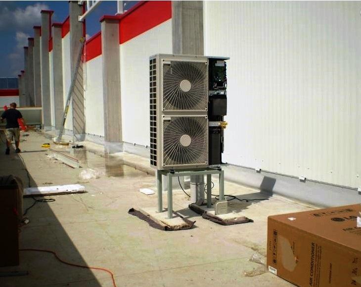 Firma Furka provádí dodávky a montáže klimatizačních zařízení, foto Pavel Furka