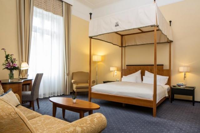 Hotel Falkensteiner Grand MedSpa Marienbad patří k jednomu z nejlepších hotelů v Mariánských Lázních.
