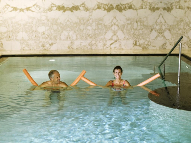 Spa a Wellness centrum Acquapura Spa Pool - Falkensteiner Hotel Grand MedSpa Marienbad