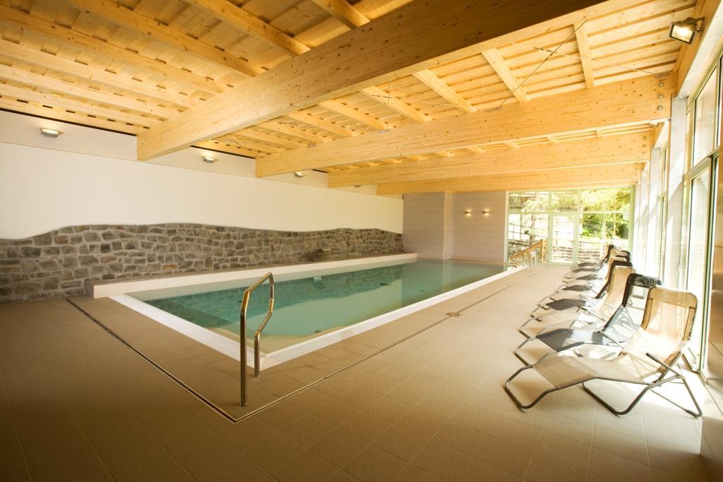 Nový krytý bazén ve Wellness Hotelu Rusava, foto Wellness Hotel Rusava