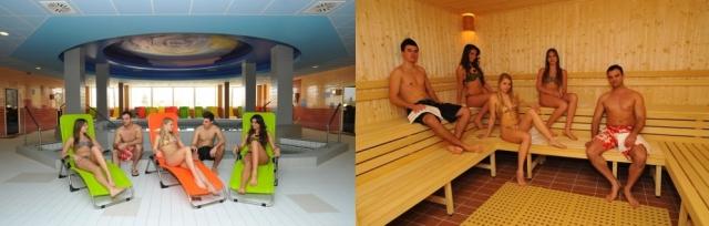 Lázně Hajdúszoboszló v Hotelu Hungarospa Thermal s polopenzí a wellness. Saunový svět zdarma!