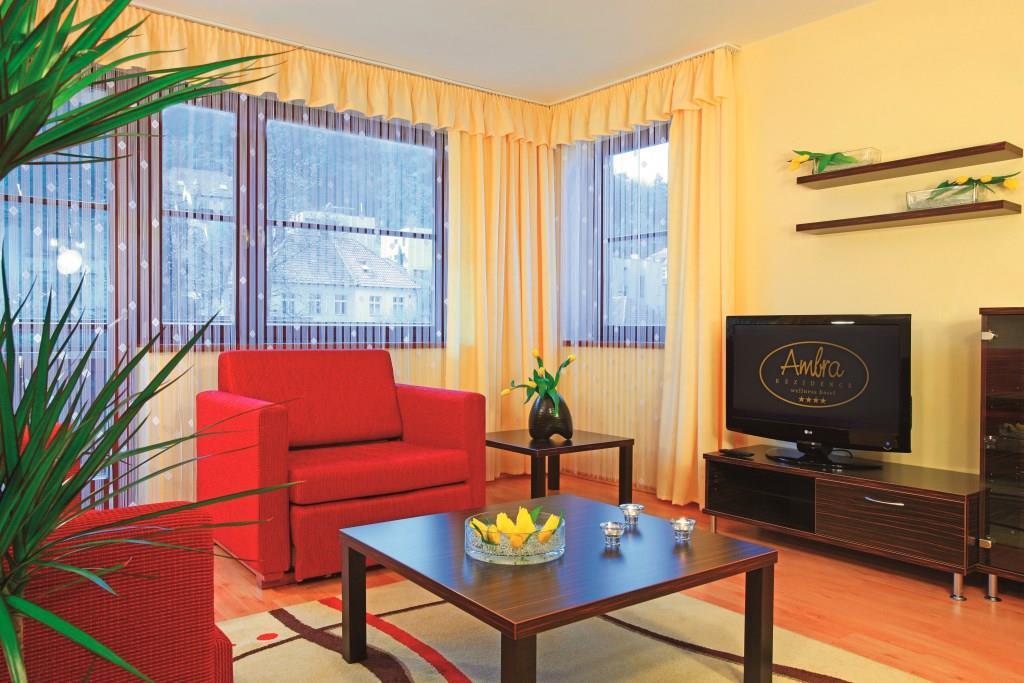 Hotel Rezidence Ambra - kvalitní ubytování Luhačovice, foto Rezidence Ambra