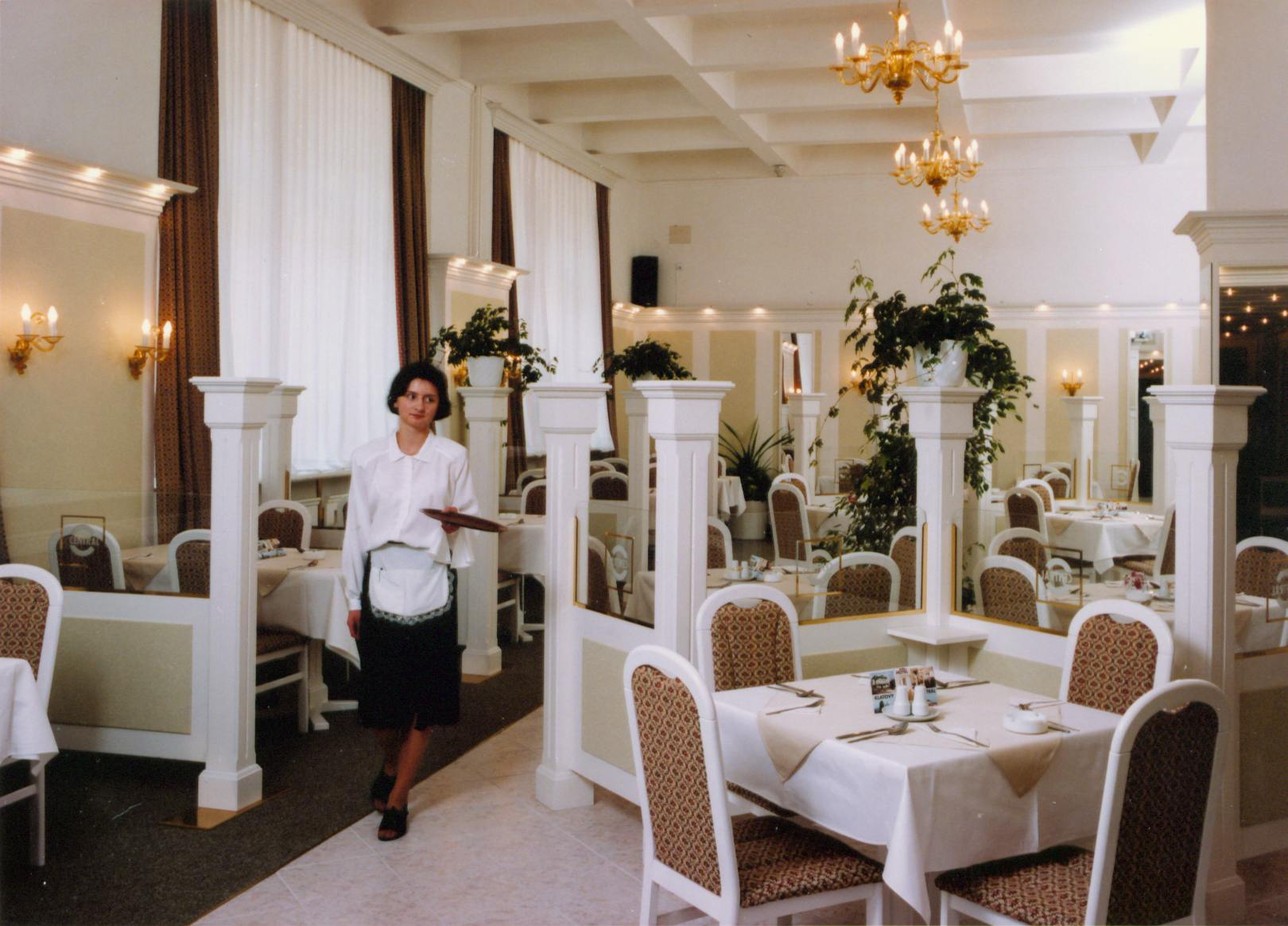 Wellness hotel Centrál - restaurace