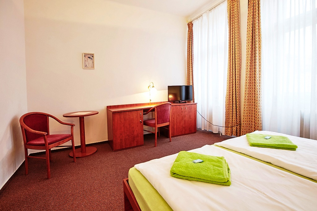 Wellness hotel Centrál - komfortní ubytování