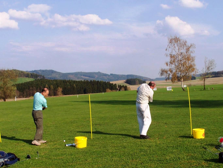 Wellness hotel Centrál - golf