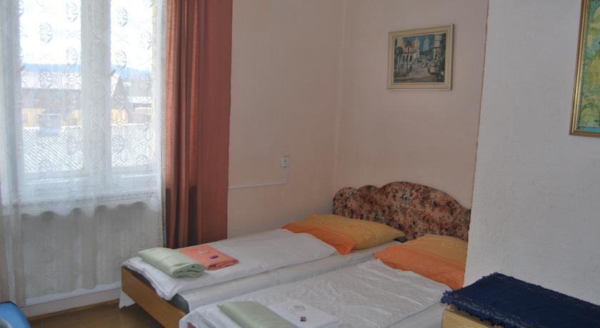 Nabízíme celoroční ubytování ve dvoulůžkových až pětilůžkových pokojích a podkrovním pokoji s osmi lůžky s vlastním sociálním zařízením. Celková kapacita Hotelu Chata je 56 hostů.