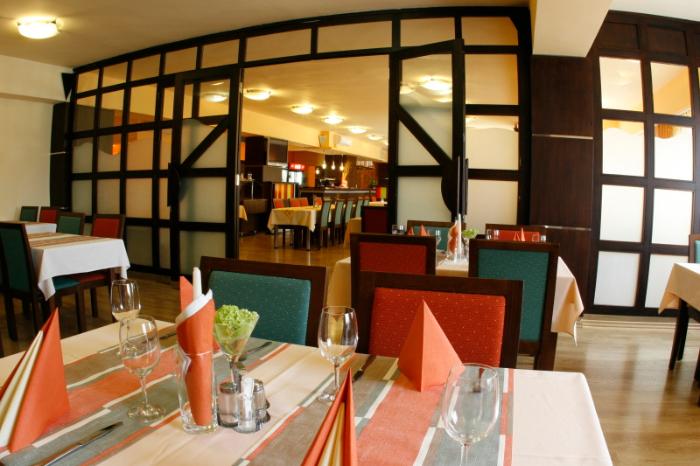 Wellness hotel Diana – gastronomie, foto Wellness hotel Diana