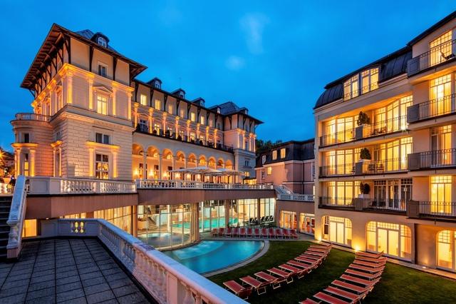 Falkensteiner Hotel Grand MedSpa Marienbad - luxusní ubytování Mariánské Lázně
