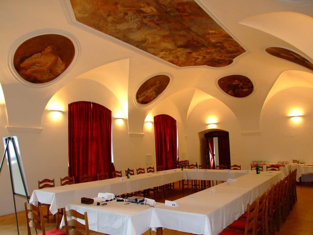 V areálu Hotelu Gustav Mahler se nacházejí rozsáhlé konferenční prostory, které lze využít k pořádání firemních akcí, školení, prezentací, konferencí a kongresů, foto Hotel Gustav Mahler