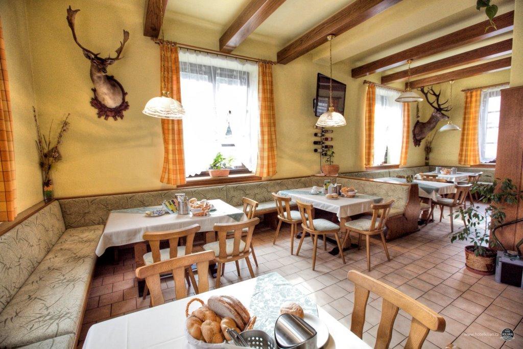Hotel Kilián - stylová restaurace a gastronomie