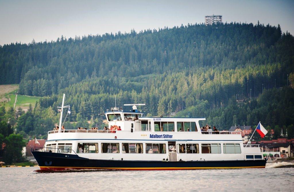 Vyhlídkové plavby Lipno, foto hotel Kilián