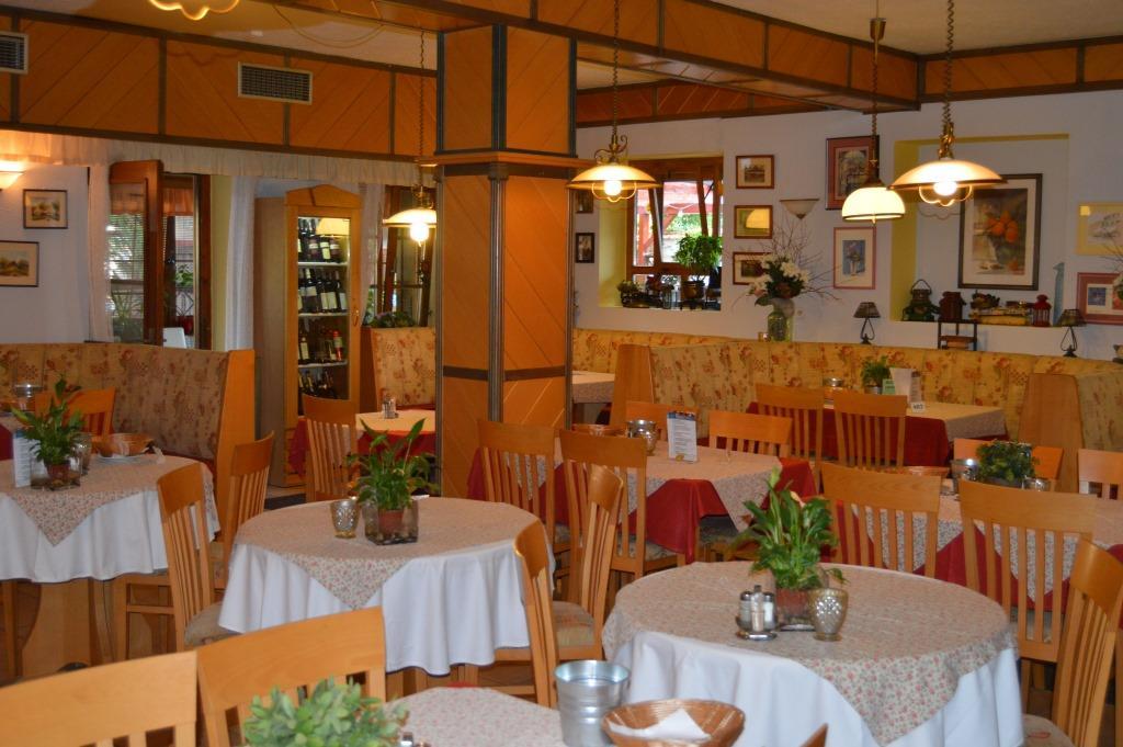 V hotelové restauraci se podávají česká i mezinárodní jídla a bohatá snídaně formou bufetu. Na místě dále najdete letní terasu, zimní zahradu a cukrárnu. Foto hotel Maxant