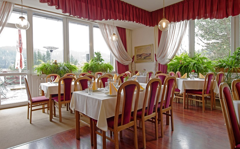 Hotel TATRA & SPA Velké Karlovice – kavárna, foto Hotel Tatra & SPA