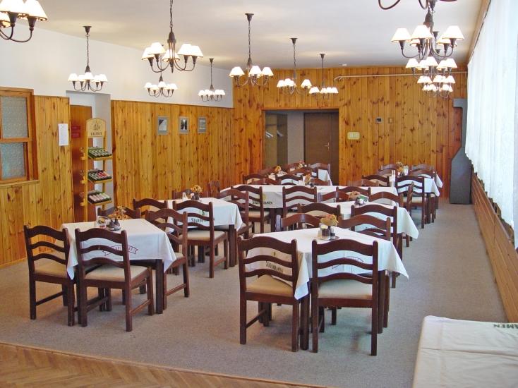 Restaurace v hotelu U Splavu