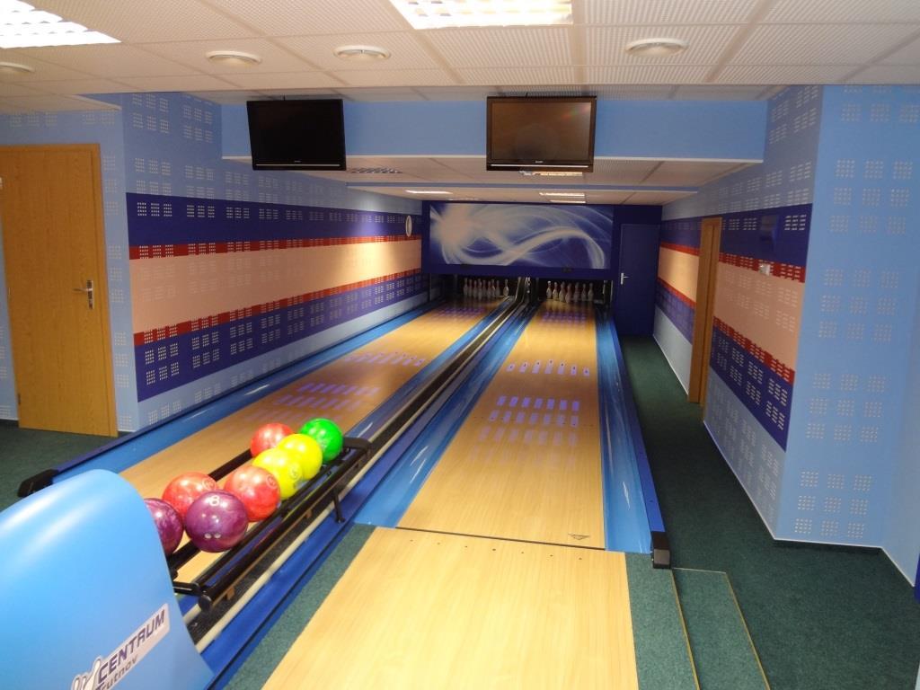 Bowling v Hotelu Dlouhé Stráně, foto Hotel Dlouhé Stráně
