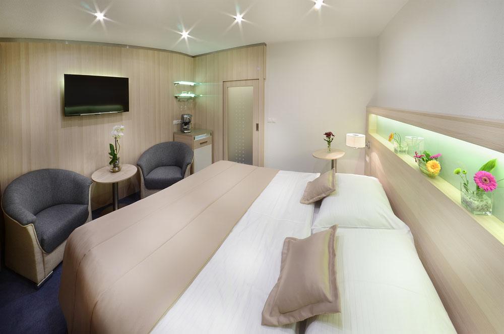 Nové luxusní pokoje v hotelu Podlesí, foto hotel Podlesí