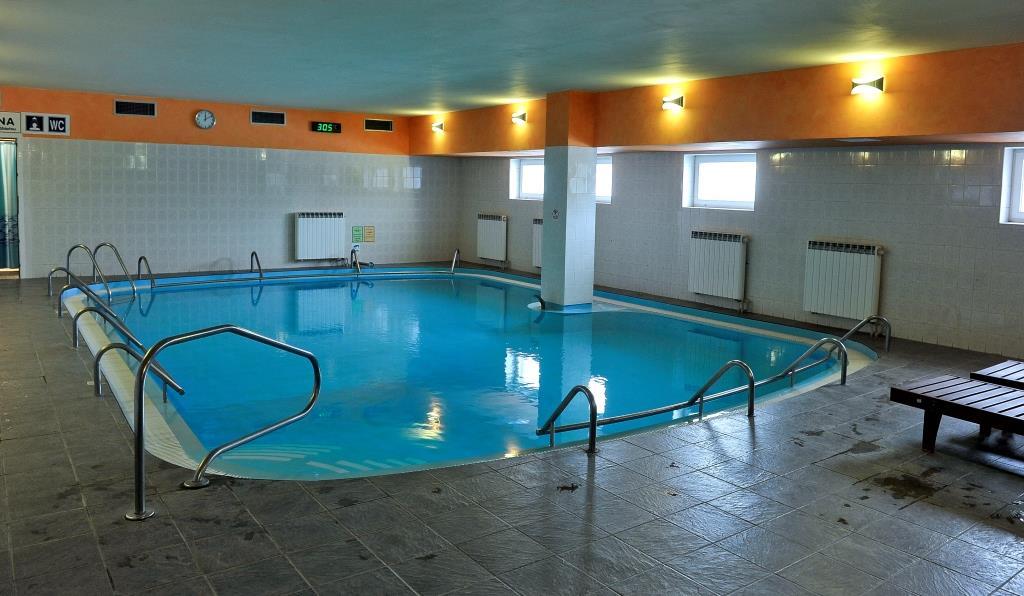 Bazén v Lázeňském hotelu Pyramida, foto Lázeňský hotel Pyramida