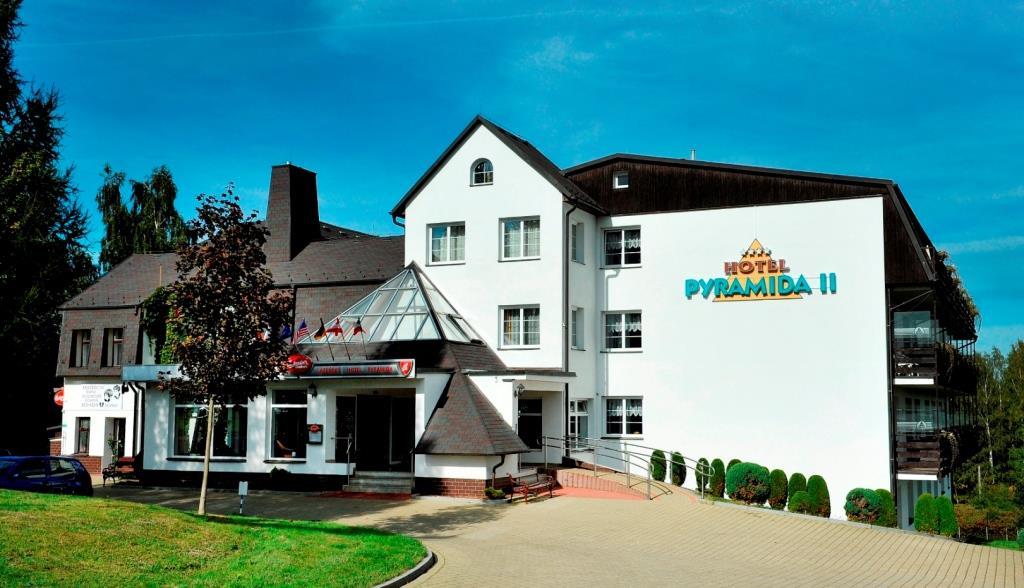 Lázeňský hotel Pyramida II Františkovy Lázně, foto Lázeňský hotel Pyramida