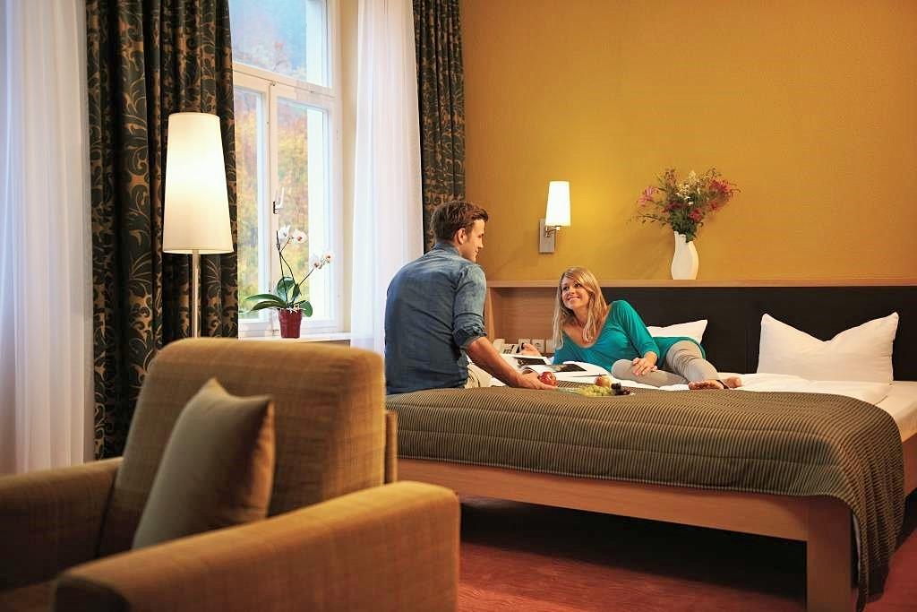 Hotel Lindenhof Bad Schandau má kapacitu 41 komfortně zařízených pokojů.