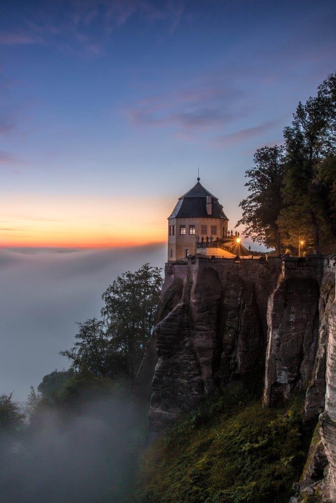 Určitě vás také zaujme rozlehlá horská pevnost Königstein, kde si na své přijdou i fanoušci vojenské historie. Foto S.Rose