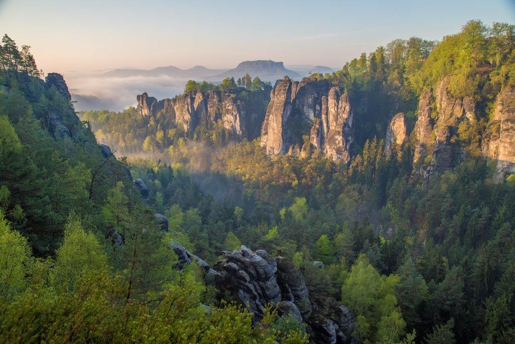 Vydejte se do jedinečného Národního parku Saské Švýcarsko. Foto S.Rose