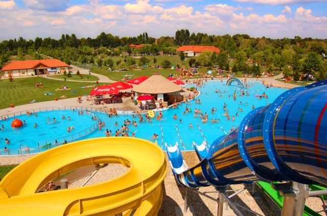Prodloužené léto v maďarských termálních lázních Lipót