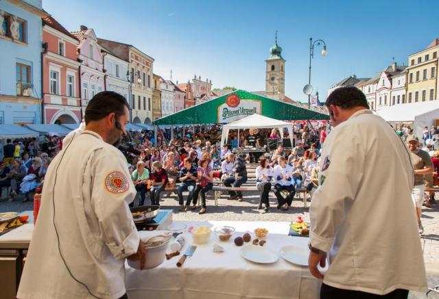 Gastronomické slavnosti M. D. Rettigové, foto Město Litomyšl