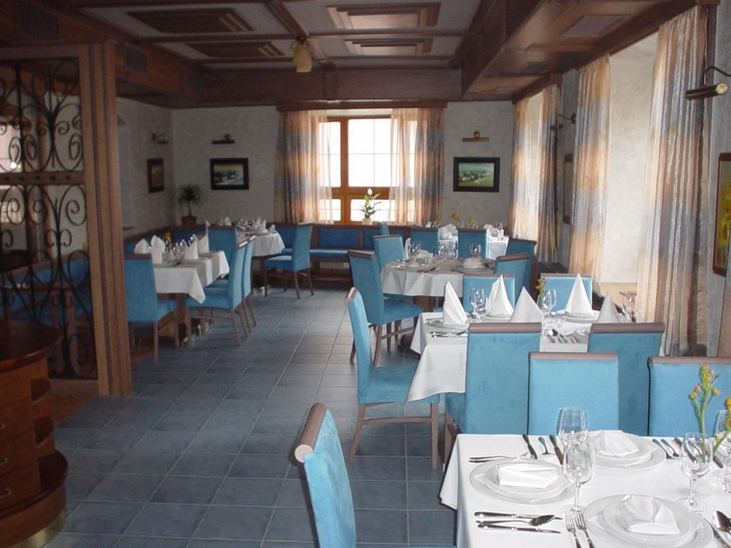 Modrá restaurace v Hotelu AGH, foto Hotel AGH