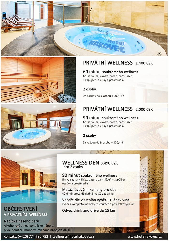 Hotel Rakovec – wellness centrum
