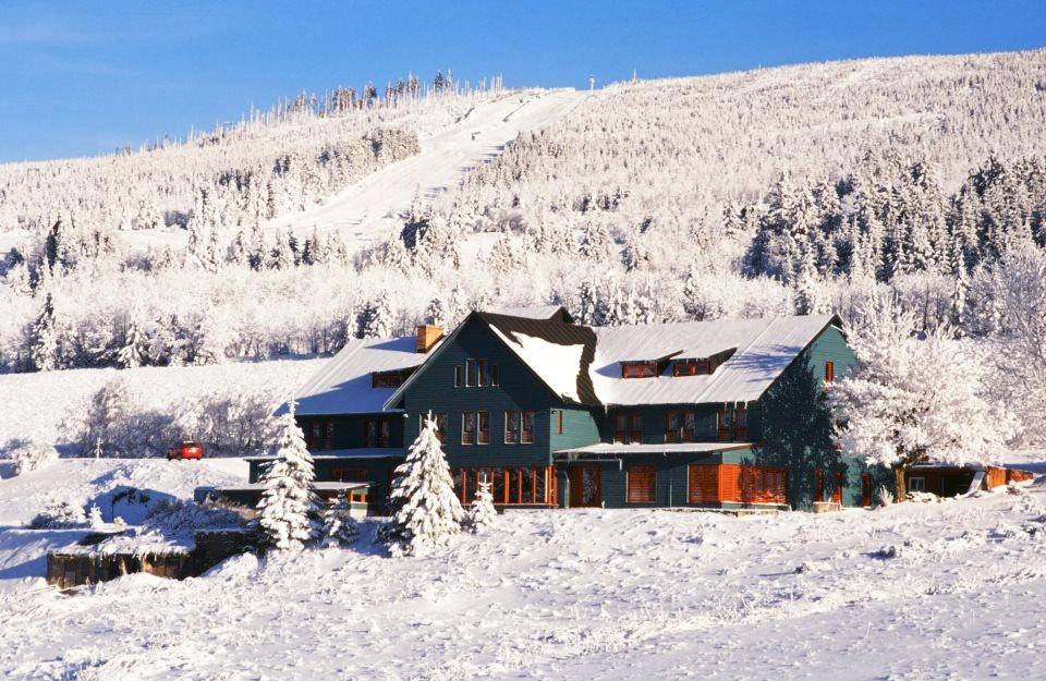 Horské boudy Renerovky -  Nová Renerovka 93 v zimě