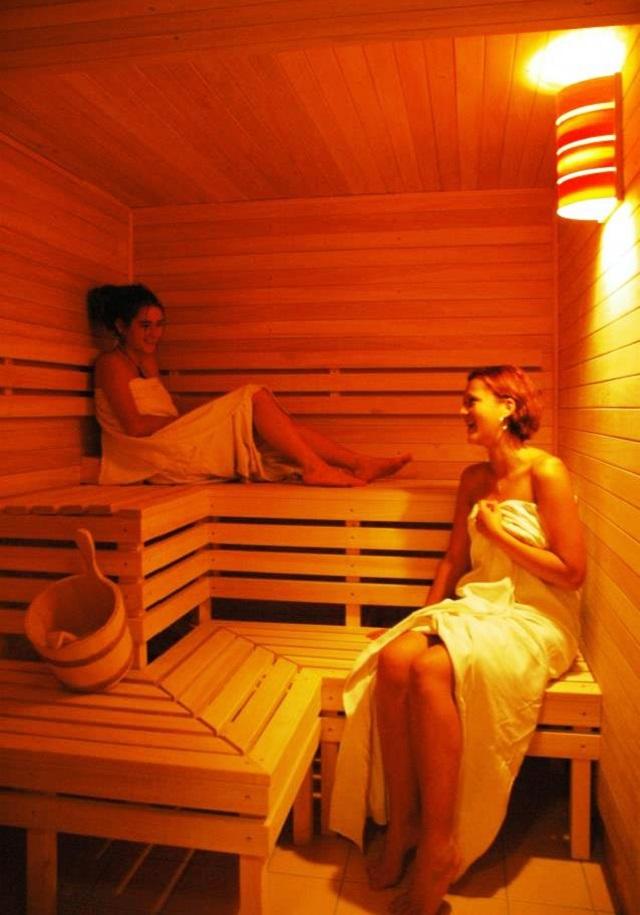 Horské boudy Renerovky - wellness. Obě Renerovky nabízejí finskou saunu.