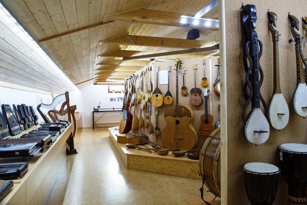 Rekreační areál Skiland - Stálá expozice hudebních nástrojů