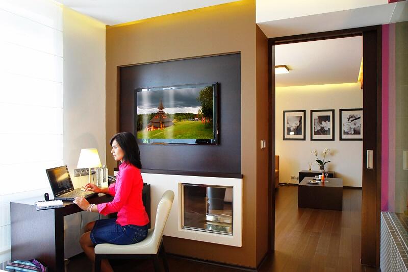 Spa hotel Lanterna nabízí ubytování v moderních a nadstandardně vybavených pokojích, foto Spa hotel Lanterna