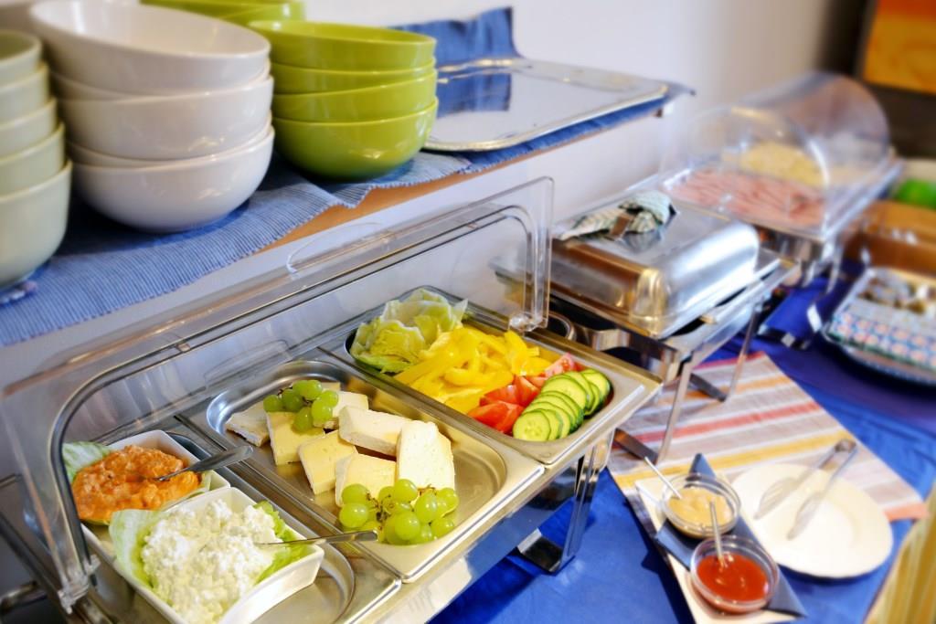 Snídaně, foto Family hotel Rilancio