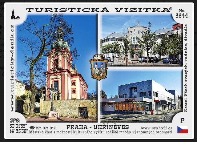 Turistická vizitka, foto ÚMČ Praha 22