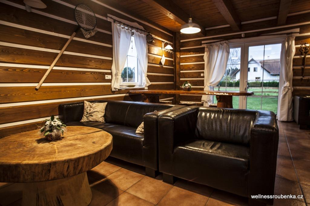 Wellness Roubenka Chlum u Třeboně - komfortní ubytování na chatě