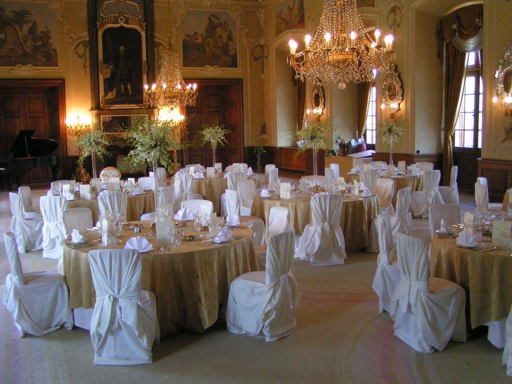 Romantické prostředí přímo vybízí k uspořádání nezapomenutelného svatebního dne.