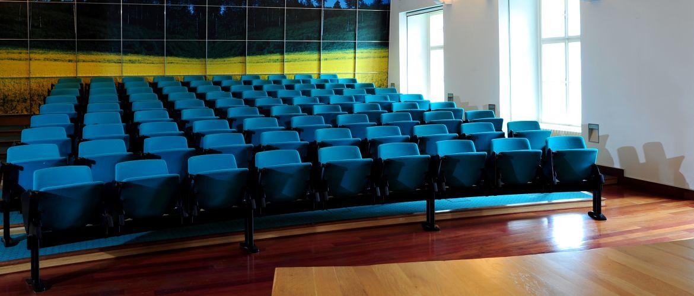 Zámek Křtiny kongresový sál, foto Školní lesní podnik Masarykův les Křtiny