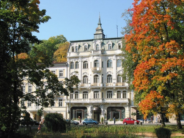 Hotel Polonia, Mariánské Lázně, foto hotel Polonia