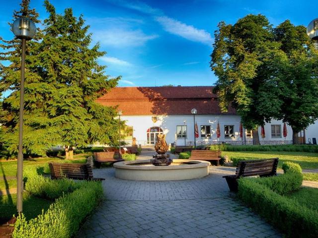 Lázně Slatinice jsou rodinné lázně s dlouholetou tradicí, které se nacházejí 12 km od Olomouce.