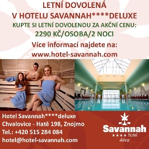 Léto First Minute letní balíček na Hotelu Savannah