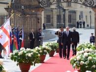 Setkání východoevropských prezidentů v Praze, foto Správa pražského hradu