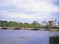 Most Legionářů po kulminaci dne 14. 8. 2002, foto L. Hubičková