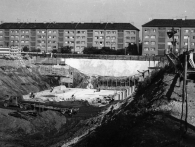 Stanice Budějovická stavba, foto archiv DPP