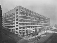 Veletržní palác během 20.let, výstava Příběh Veletržního paláce, foto NG Praha